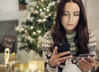 Tarjetas de crédito en navidad