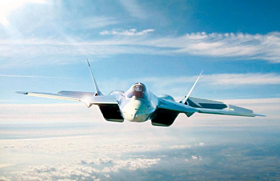 Aviones de combate rusos de 5ª generación de Su-57