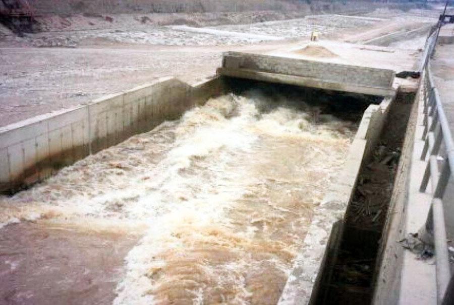 Crecimiento del caudal del río Rímac