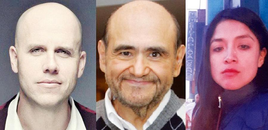 Gianmarco,Edgar Vivar y Katy Jara