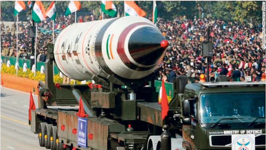 India lanza misil nuclear