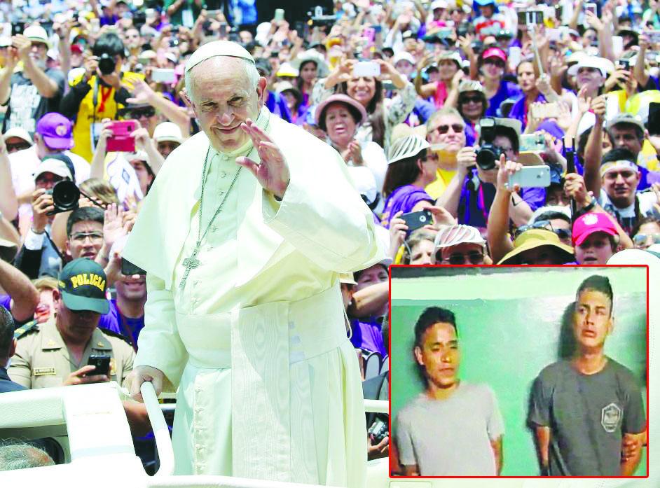 Ladrones piden que Santo Padre les haga el milagro de cambiarlos