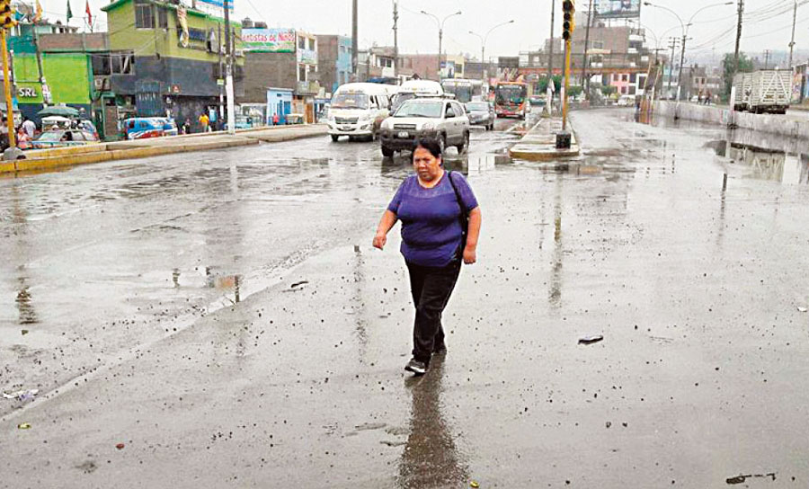 Lluvias en Lima