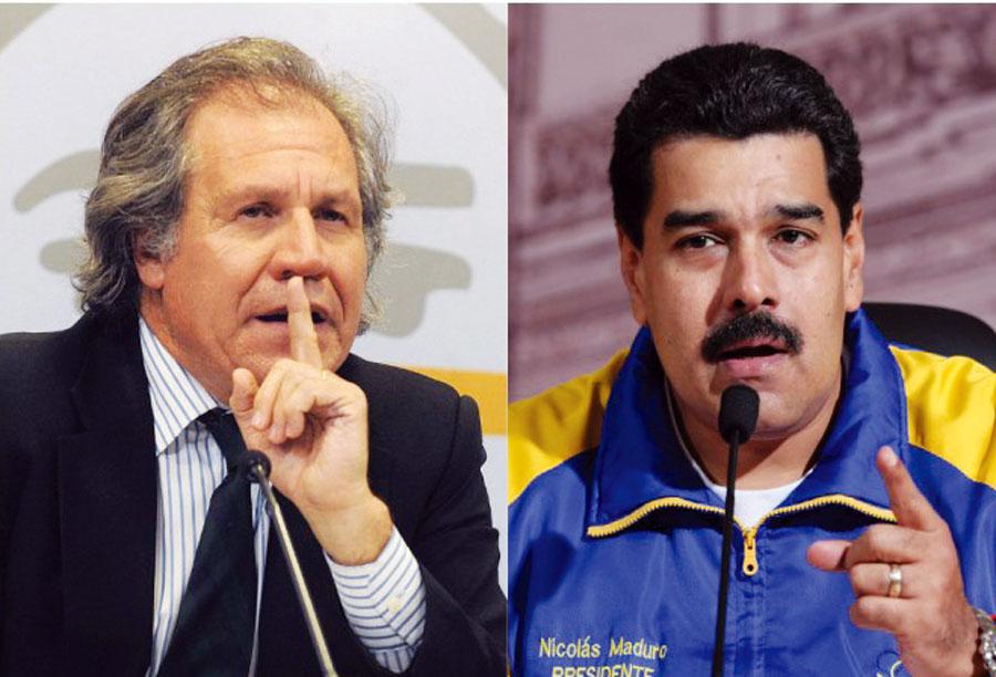 Luis Almagro arremeter contra Nicolás Maduro
