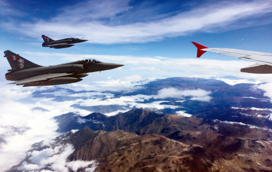 Mirage 2000 de la Fuerza Aérea del Perú