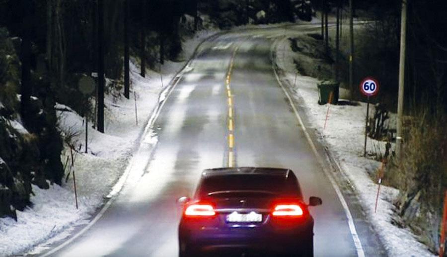 Se iluminan al detectar automóviles