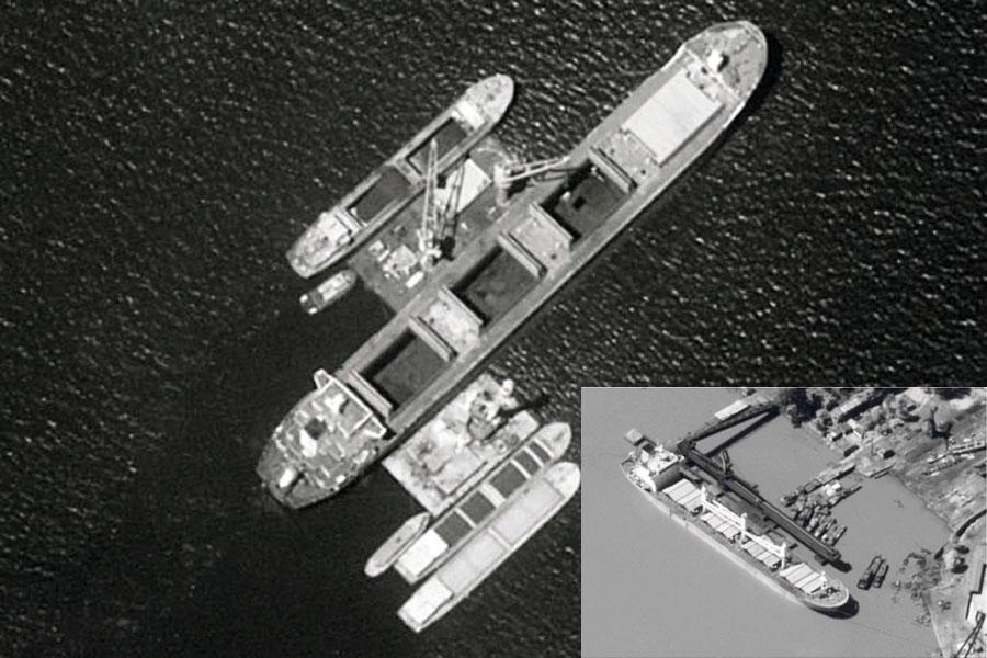 buques chinos abastecen de productos ilegales a Norcorea