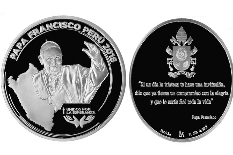 Medalla de plata por el Papa
