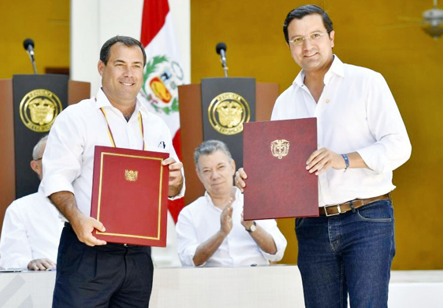 IV Gabinete Ministerial Colombia – Perú,