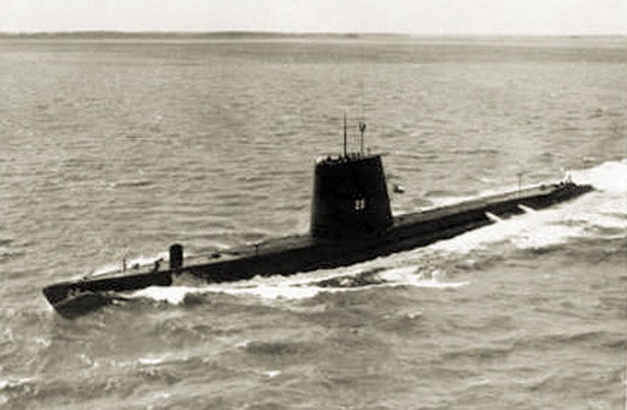 Submarino chileno