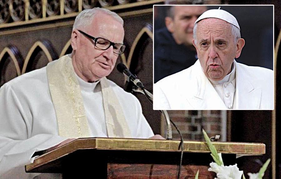 Edward Staniek y el Papa Francisco