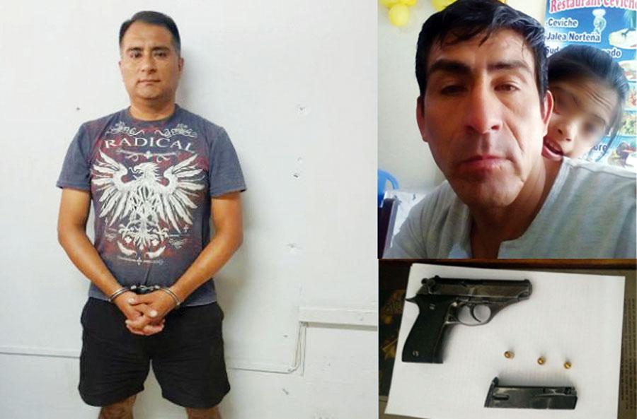 Piropean a mujer y esposo les dispara