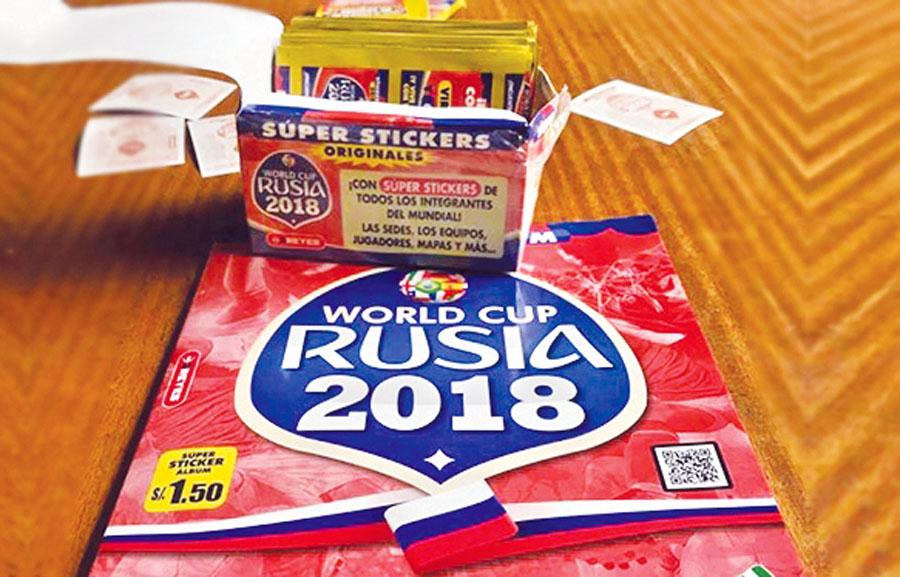 álbum '3 Reyes' del Mundial Rusia 2018