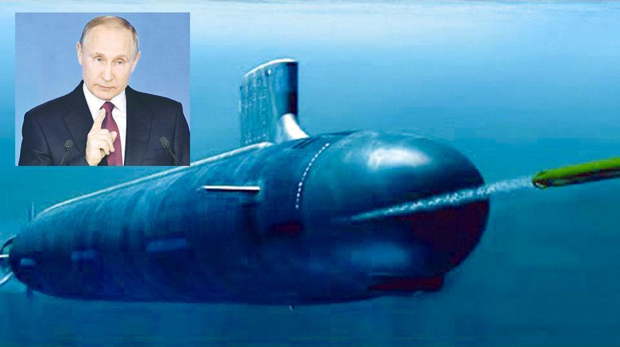 'Poseidón', el nuevo submarino nuclear Ruso