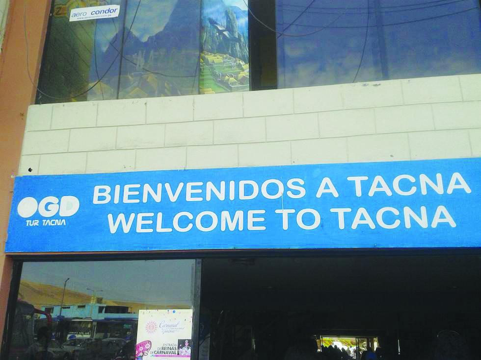 Bienvenido a Tacna