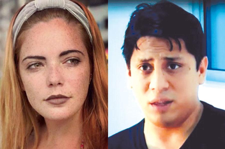 Daniela Pflucker y Guillermo Castañeda