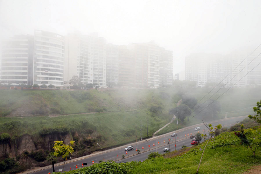 Neblina en Lima
