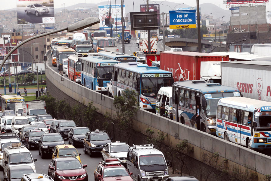 Transito en Lima