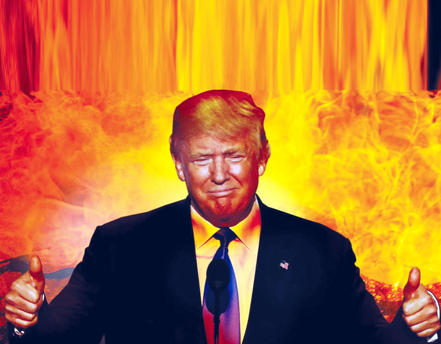 Trump tiene el 666 del Anticristo