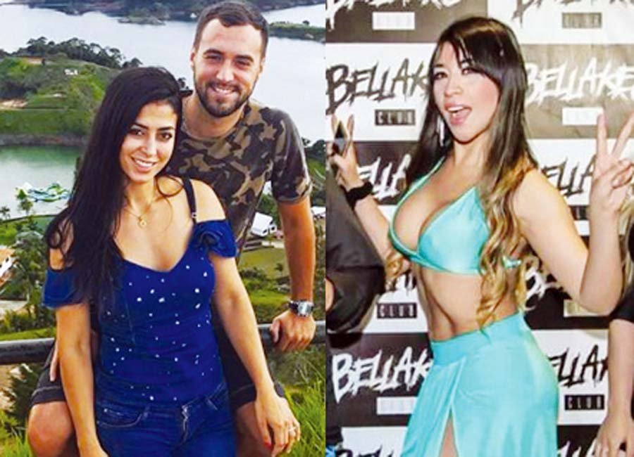'Castigadora' revela mensajes íntimos con Diego Geminez, novia de modelo colombiana Claudia Ramírez