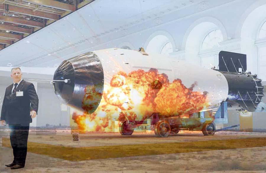 Bomba Aérea de Vacío de Potencia Aumentada