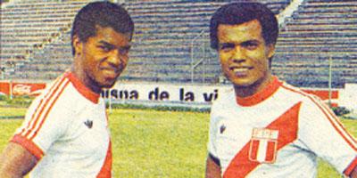 Julio César Uribe y Teófilo Cubillas