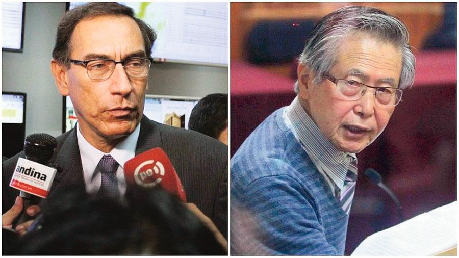 Martin Vizcarra, Alberto Fujimori