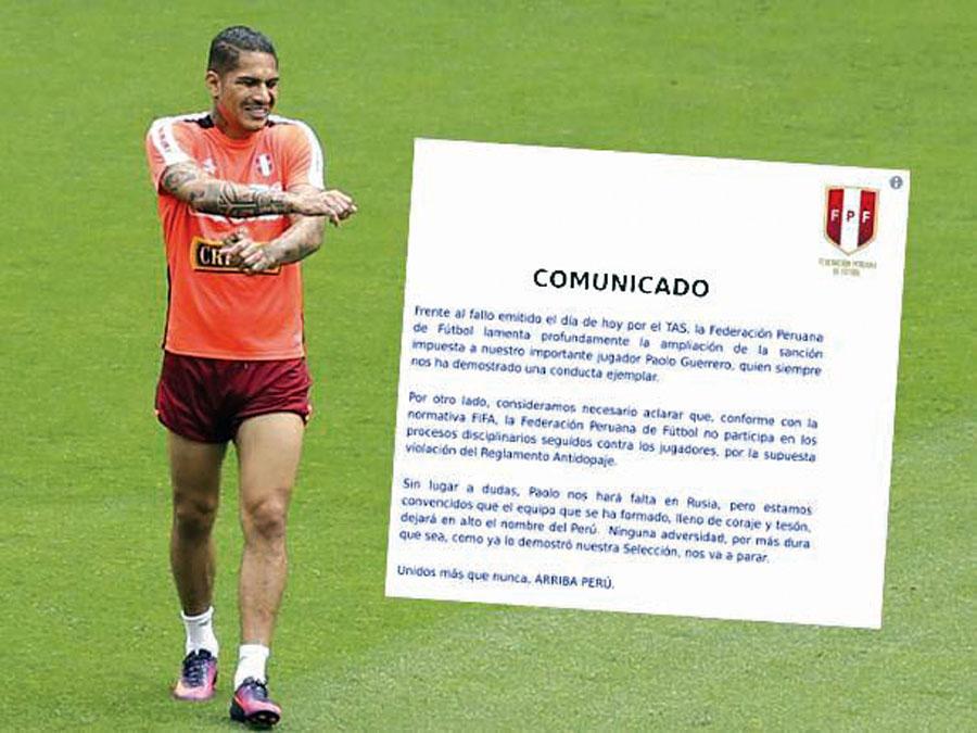 Paolo comunicado FPF
