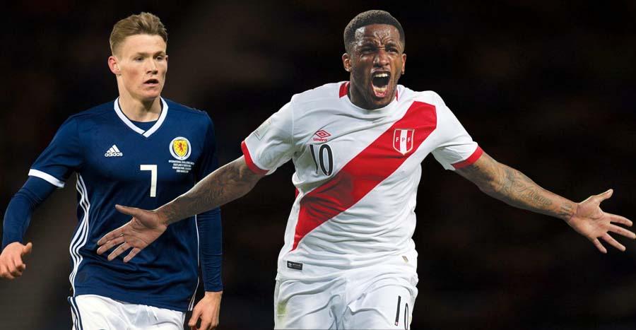 Perú Vs Escocia