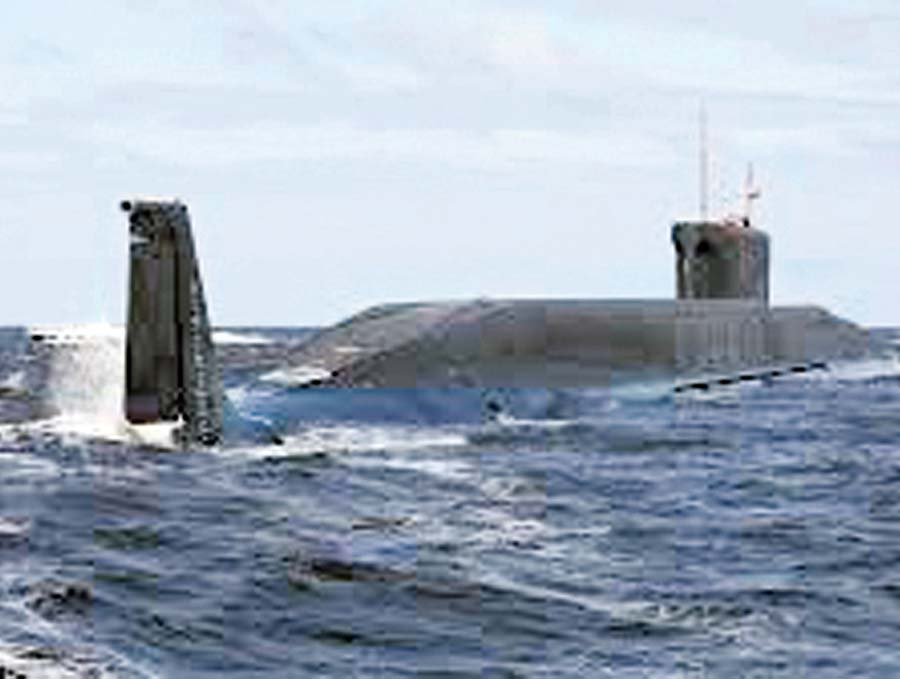 submarino Yuri Dolgoruki
