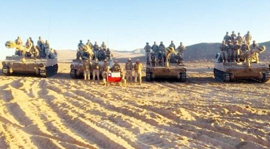 Chile se sigue preparando para la guerra