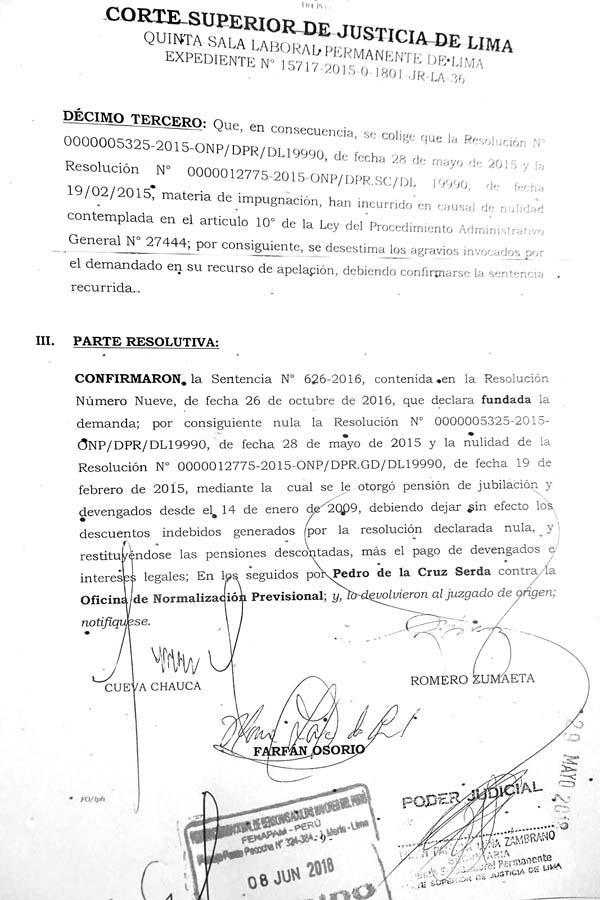 Confirmacion sentencia 626-2016Confirmacion sentencia 626-2016