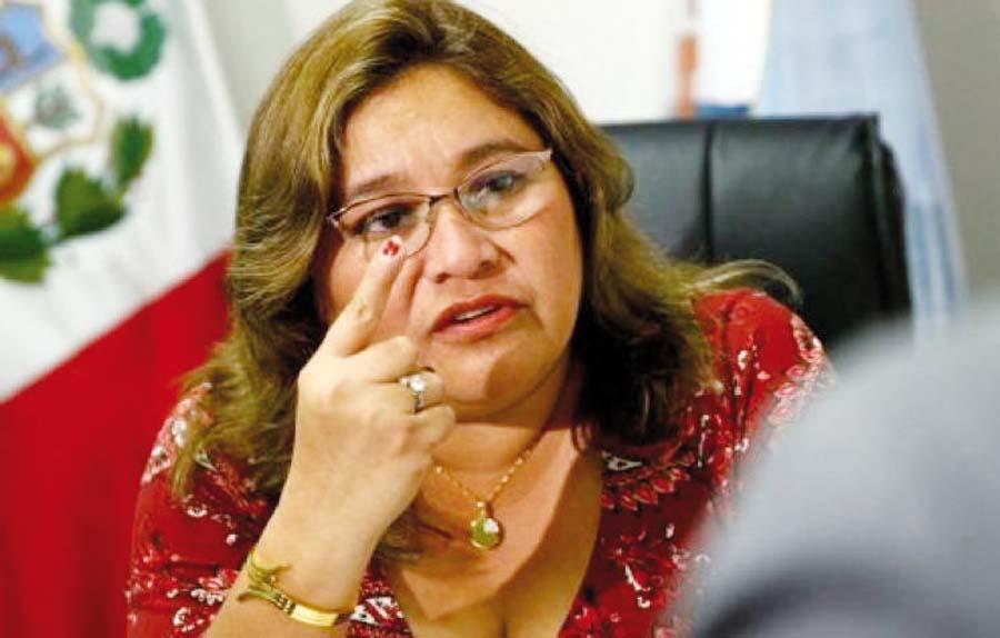 Janet Sánchez, congresista de Peruanos por el Kambio
