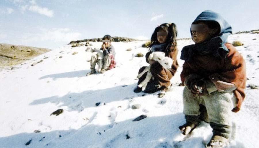 Mueren seis niños por intensa nevada