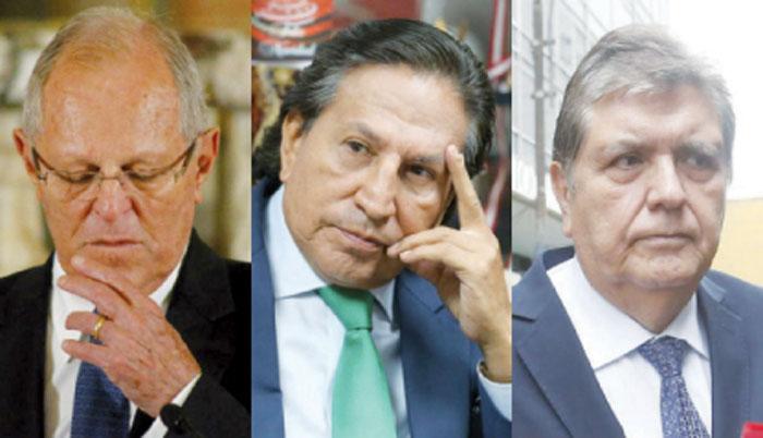 PPK, Alejandro Toledo y Alan Garcia