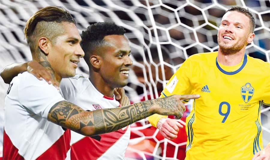 Peru vs Suecia