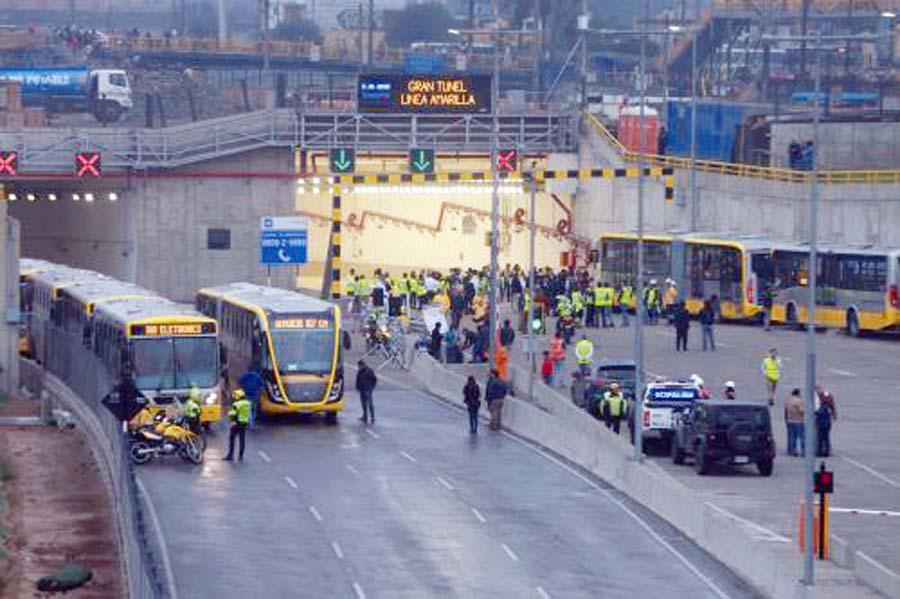 megaobra vial Línea Amarilla