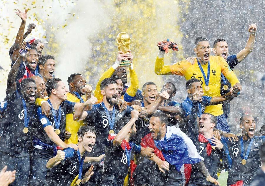 ¡Francia se coronó campeón del Mundo!