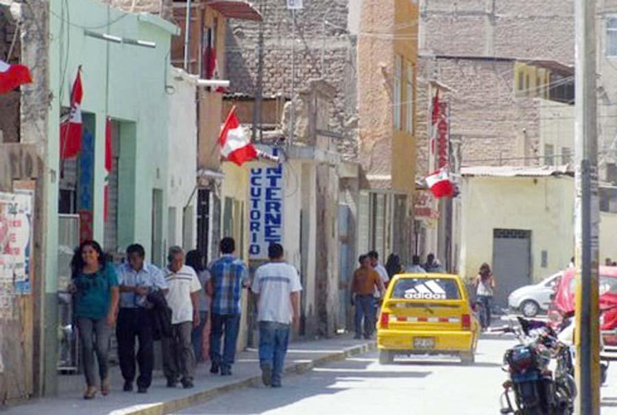 Banderas peruanas