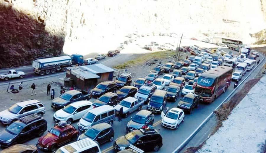 Carretera Central con restricciones por Fiestas Patrias