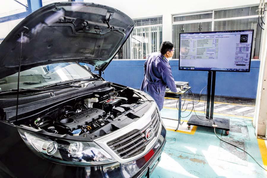 Conversiones de gasolina a Gas Natural Vehicular
