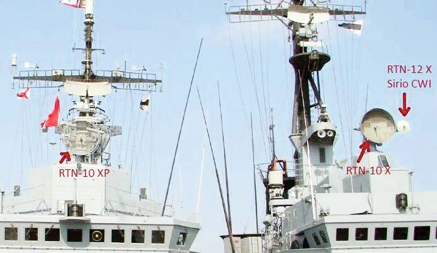 El radar de vigilancia aérea RAN-10S y el de control de tiro RTN-10X recibirán mantenimiento general, reparación, puesta a punto y calibración.