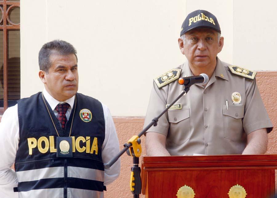 General José Baella, jefe de la Dirección contra el Terrorismo