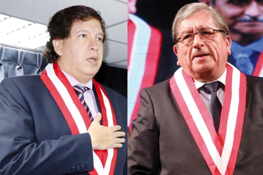 Iván Noguera y Julio Gutiérrez