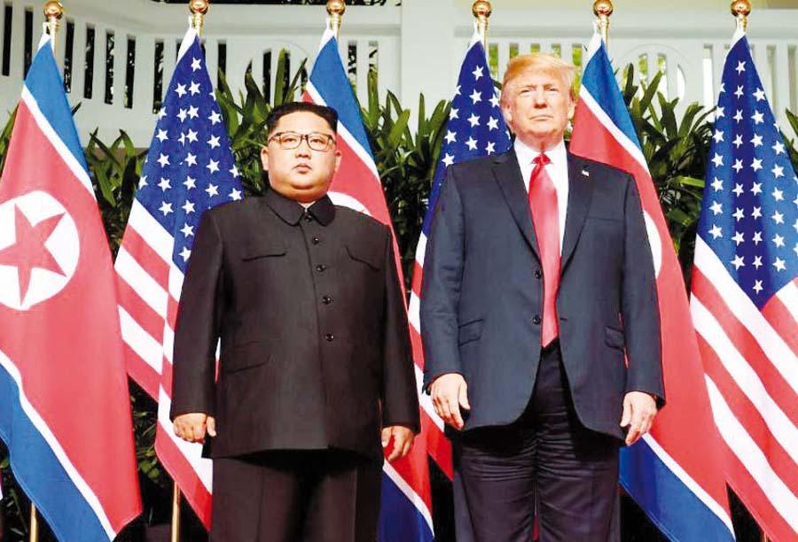 Líder norcoreano Kim Jong-un pidió y el presidente de Estados Unidos, Donald Trump