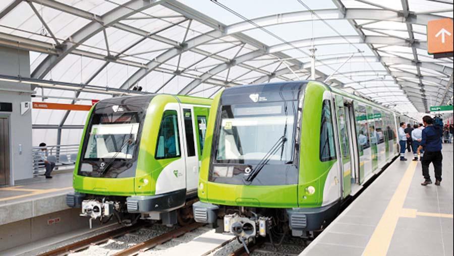 Líneas 1 del metro
