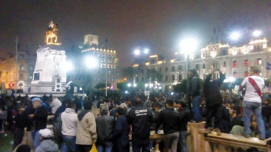 Marcha contra corrupción tomó las calles