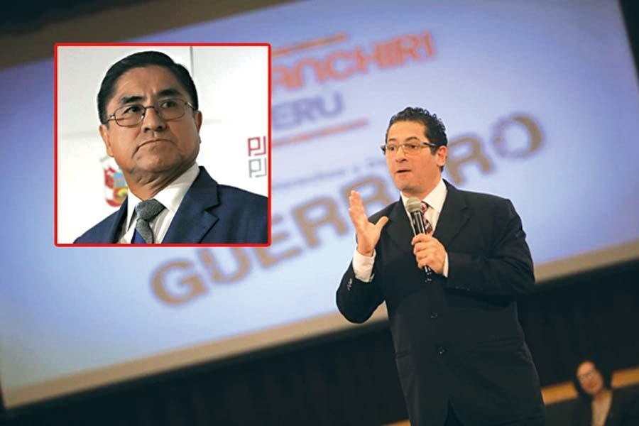 Salvador Heresi renunció tras audio con juez César Hinostroza