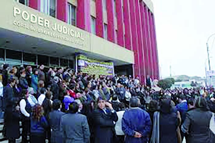 trabajadores de la Corte Superior de Justicia del Callao