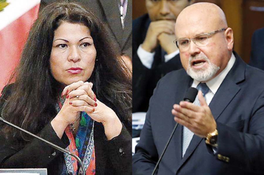 Legisladores Carlos Bruce, Yesenia Ponce